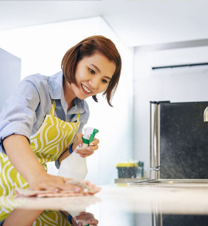 cleaning-kitchen-counter